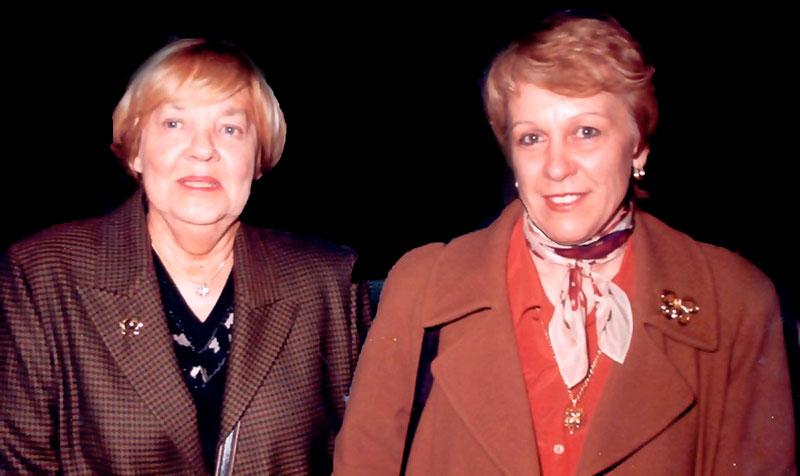 María Elena y Alicia Origgi