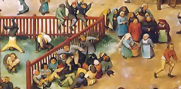 """""""Juegos de Niños"""" Pieter Bruegel"""