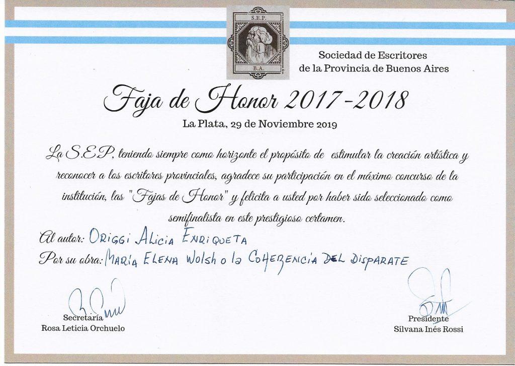 Premio ensayo María Elena Walsh